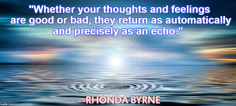 Rhonda Byrne Quote and Image